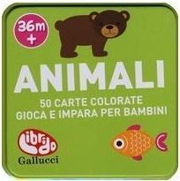 Carte giochi animali - Librido Gallucci